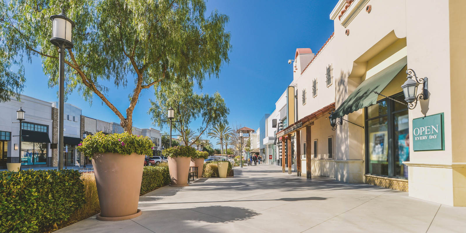 Shopping District in Solano County